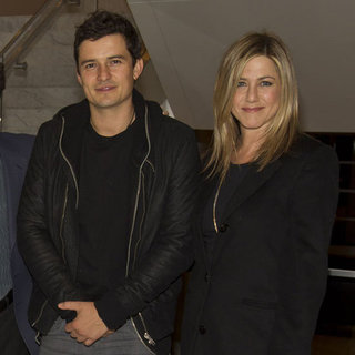 Jennifer Aniston, Justin Theroux, and Orlando Bloom Pictures