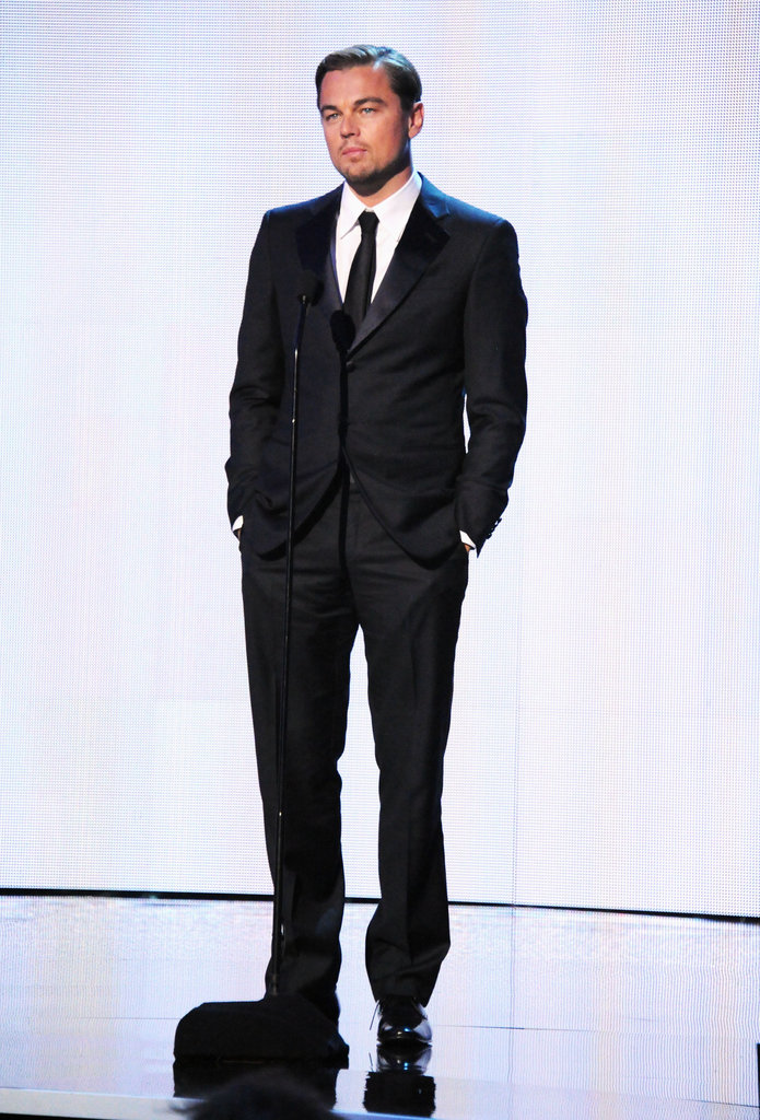 Leonardo DiCaprio captivated the audience at the 2012 Critics' Choice Movie Awards.