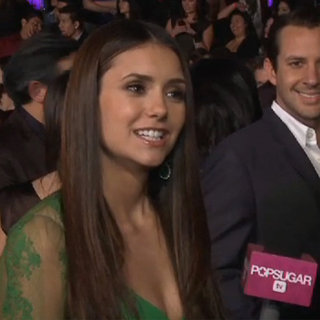 Nina Dobrev Interview at the 2012 People's Choice Awards