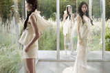 Vera Wang's Spring '12 ads are ethereal and futuristic. Source: Fashion Gone Rogue