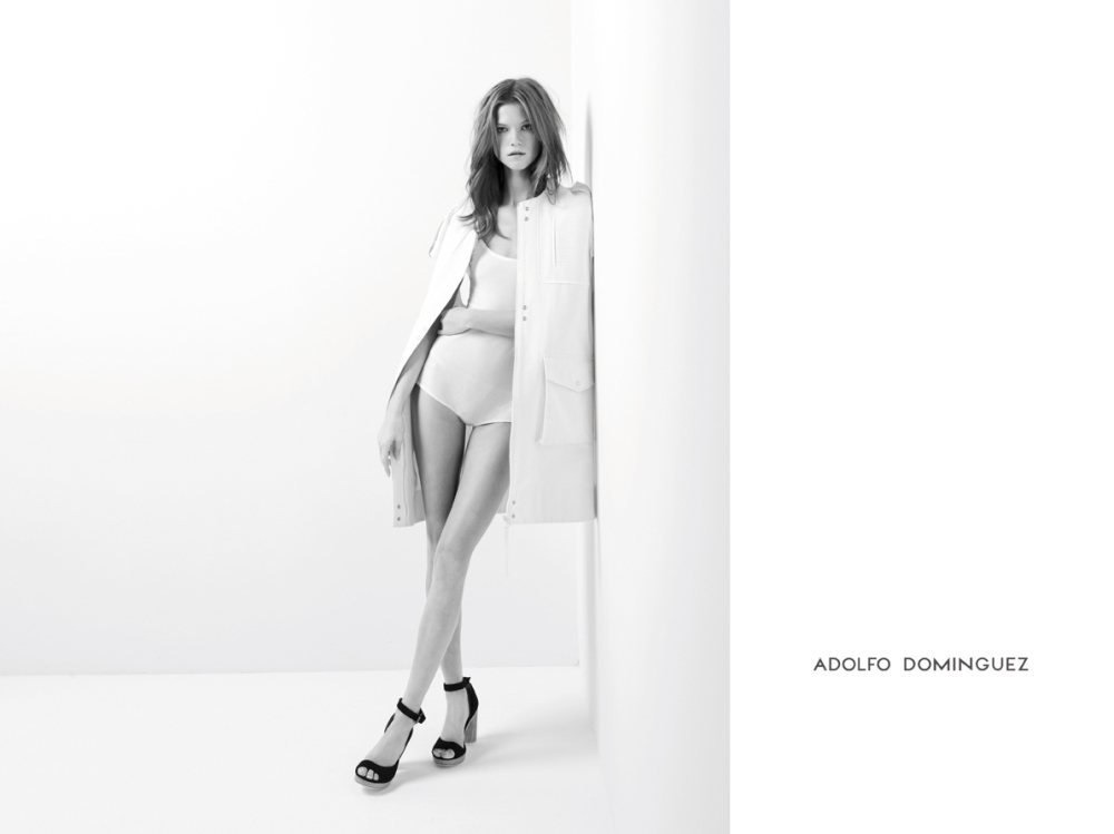 Try a more retro shape à la Adolfo Dominguez's Spring looks. Source: Fashion Gone Rogue