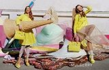 Mulberry featured bright yellows in its Spring ads. Source: Fashion Gone Rogue
