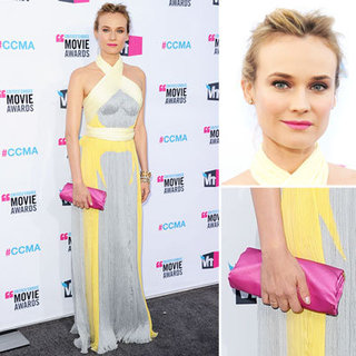 Diane Kruger at Critics' Choice 2012