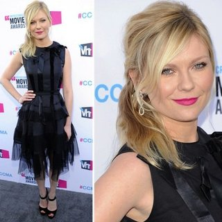 Kirsten Dunst at Critics' Choice Awards 2012