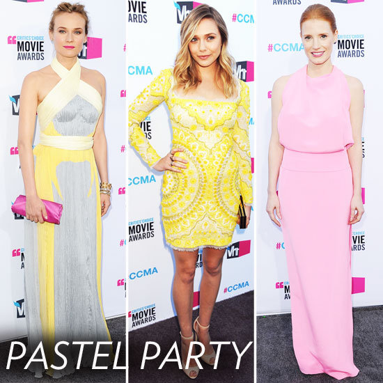 2012 Critics' Choice Awards Trends: Pastel Pop