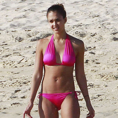 Picture of Jessica Alba in Bikini After Baby