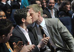NPH Seals His People's Choice Win With a Sweet Kiss
