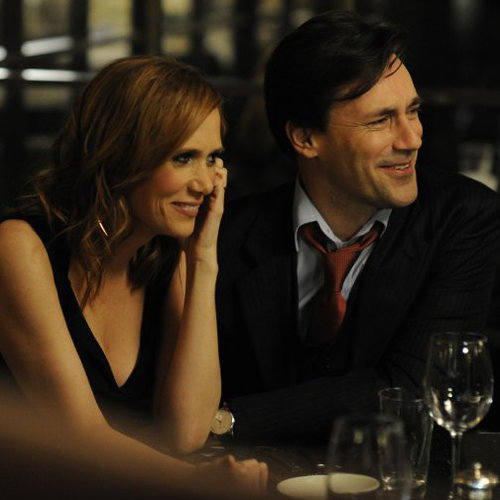 Jon Hamm and Kristen Wiig in Friends With Kids