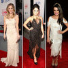 Pictures of Red Carpet Arrivals at the 2012 People's Choice Awards Lea Michele, Kaley Cuoco, Nina Dobrev And More!