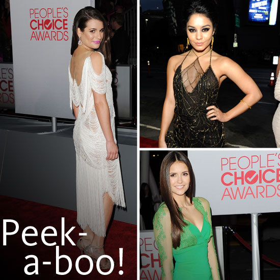 2012 People's Choice Awards Trend: Sexy, Sheer Inserts