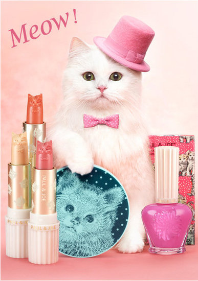 See Paul & Joe's Kitten Kitsch Spring 2012 Makeup Collection