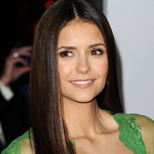 See Vampire Diaries Star Nina Dobrev's Beauty Look For the 2012 People's Choice Awards