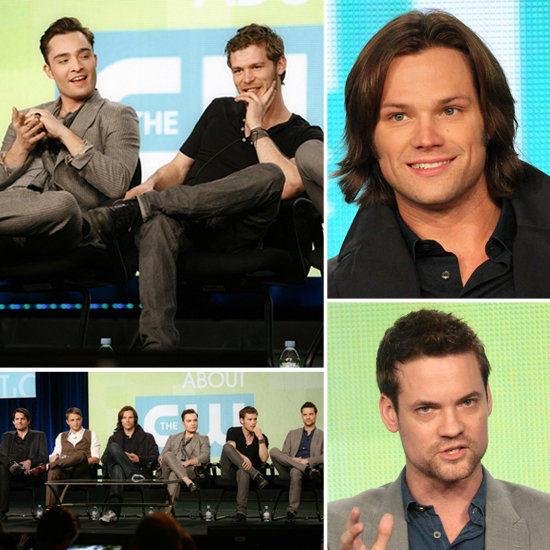 Hot Pics of CW Bad Boys From Gossip Girl, Supernatural, The Vampire Diaries, and More
