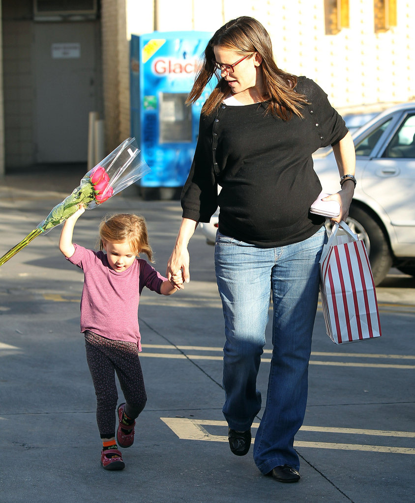 Jennifer Garner and Seraphina Affleck ran errands together.