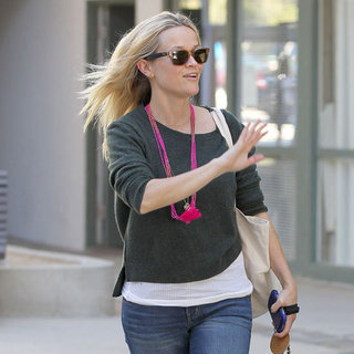 Reese Witherspoon Pictures at Jim Toth's Office in LA