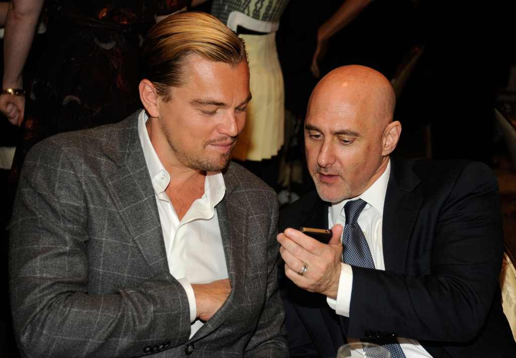 Brad, Leo and George Bring Their Good Looks Inside the AFI Awards