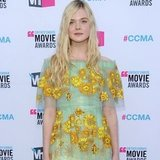 Elle Fanning in Rodarte at Critics' Choice 2012