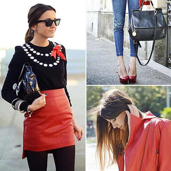 Fire up your style with powerful red pieces. Let these street stylers teach you how.