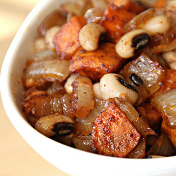 Vegetarian Recipe For Black-Eyed Peas Bowl