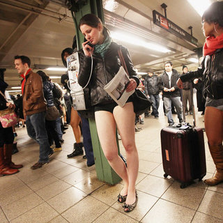 No Pants Subway Ride in New York