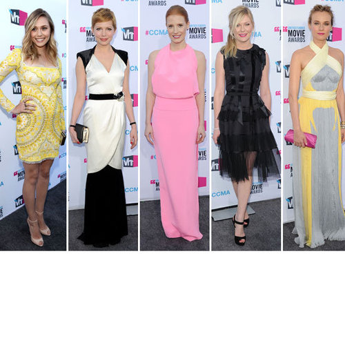 Vote on the Best Dressed Celebrity from the 2012 People's Choice Awards Diane Kruger, Kirsten Dunst, Michelle Williams & More!