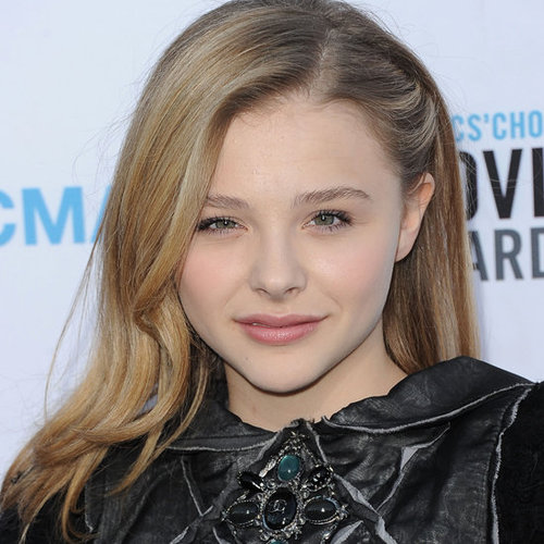 Chloë Moretz's Hair and Makeup at the 2012 Critics' Choice Awards