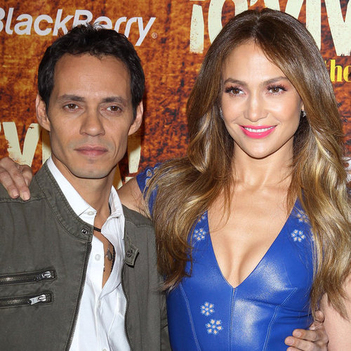 Jennifer Lopez and Marc Anthony at TCA Pictures