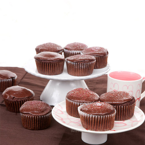 Rich Double Chocolate Cupcakes, a Treat for Tebow