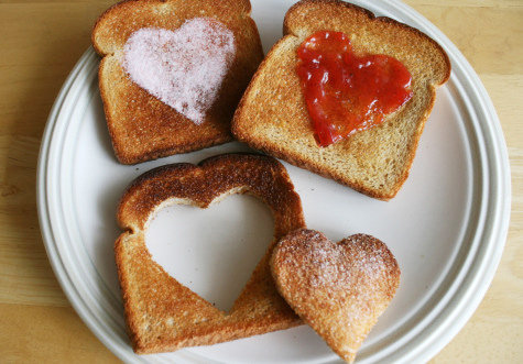 Jelly and Toast: Valentine's Day Lunch Ideas