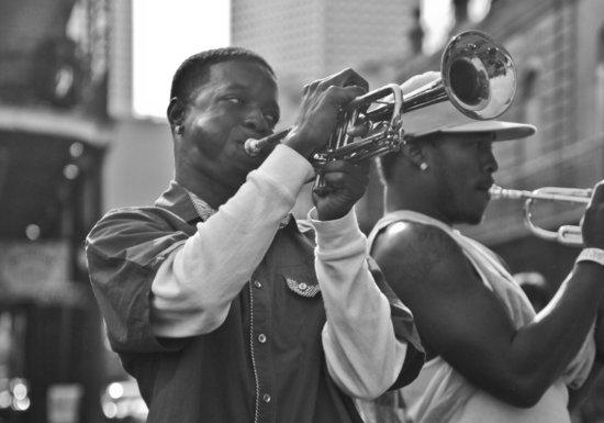 Musicians in Jackson Square