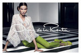 Karlie Kloss goes ladylike for Oscar de la Renta's Spring '12 campaign. Source: Fashion Gone Rogue