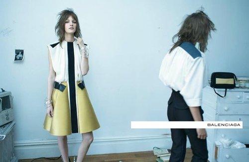 Balenciaga Spring 2012 Ad Campaign
