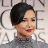 Naya Rivera's Bright Berry Lip Color