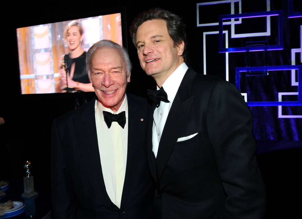 Colin Firth and Christopher Plummer said hello.