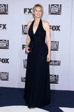 Jane Lynch wore a deep-V gown.