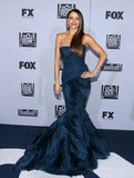 Sofia Vergara attended the Fox afterparty.