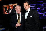 Christopher Plummer said hello to Colin Firth.