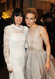 Lena Headey and Piper Perabo hung out at the HBO post-Globes bash.