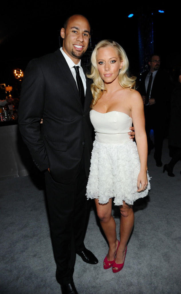 Kendra Wilkinson cozied up to husband Hank Baskett.