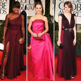 Golden Globes Trend Report: Crimson Hues
