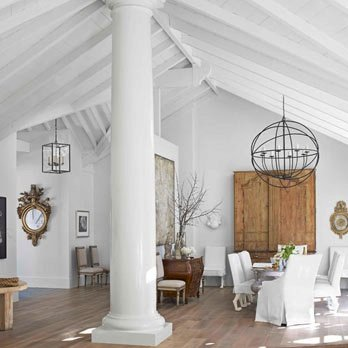 White Interior Paint and Interior Decor