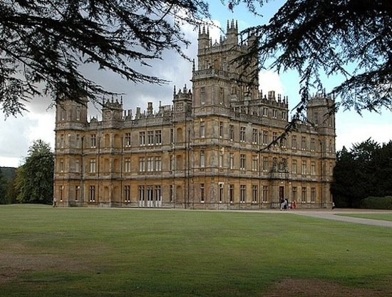 Highclere Castle, the setting for Downton Abbey, was finished in the late 19th century. In the early 20th century, it was the scene of many house parties that hosted Egyptologists, aviators, politicians, and inventors.