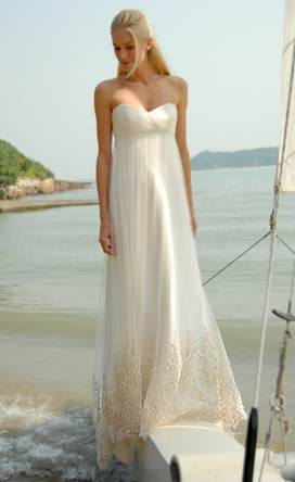 Simple Beach Wedding Dresses If you look up the synonyms for simplicity