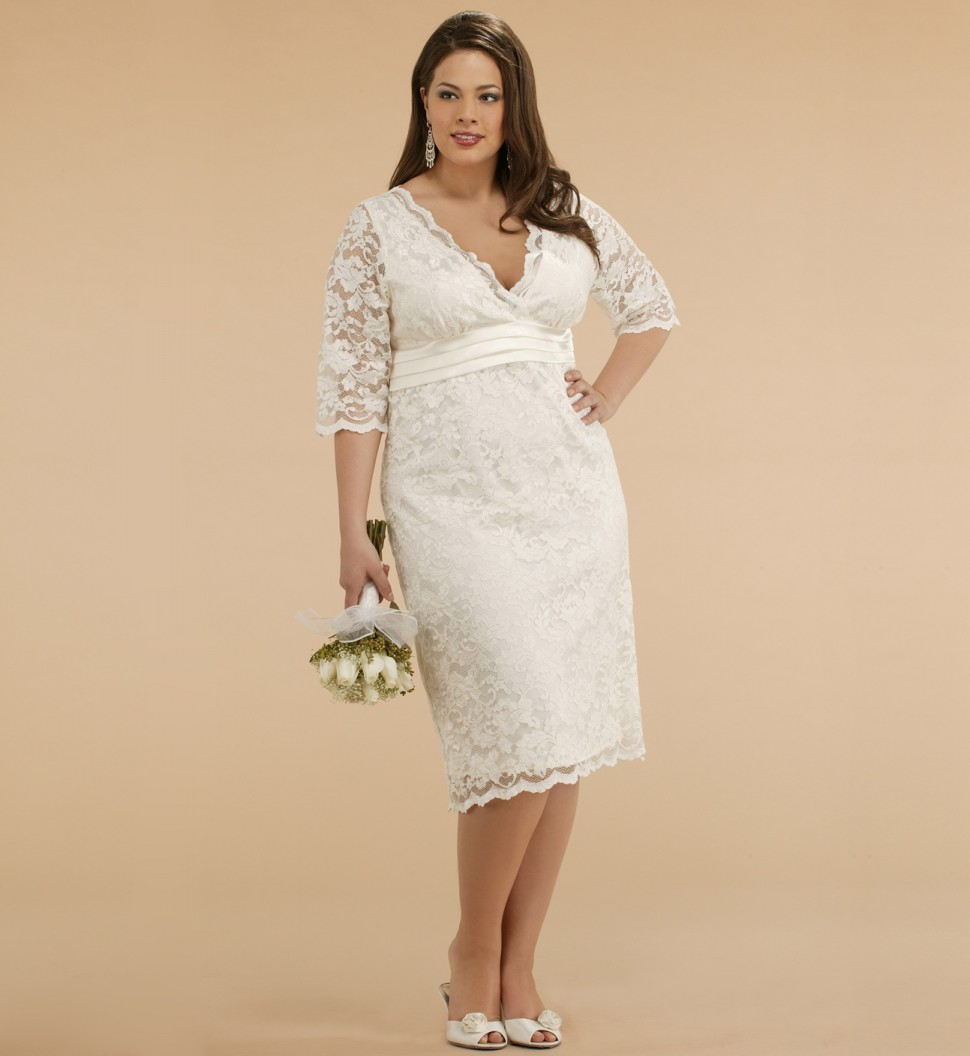 Plus Size Informal Wedding Dresses Canada 5