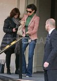 Penelope Cruz wore a pink blazer in London.