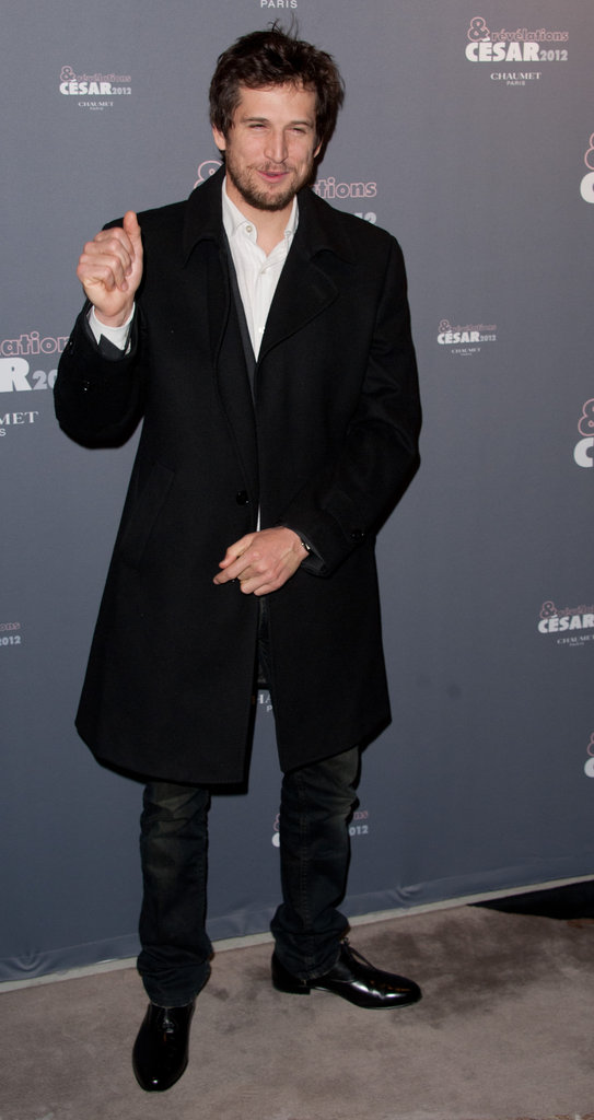 Guillaume Canet arrived at a party in Paris for the César Awards.