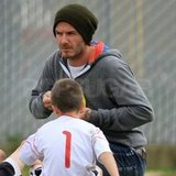 David Beckham out with Cruz.