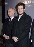 Guillaume Canet was on the red carpet in Paris.