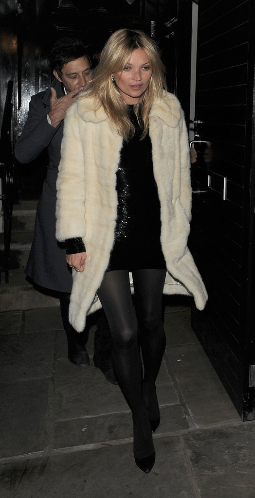 8. She Rocks a Statement Coat