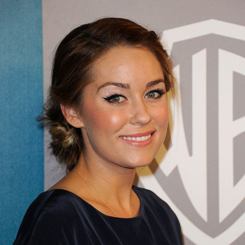 Lauren Conrad Hair and Makeup at the 2012 Golden Globes InStyle After Party